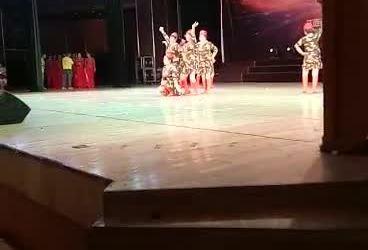 《水兵舞饮酒欢歌 表演 团队版》乐平广协会晚霞舞蹈队