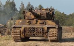【赞】老外自制虎Ⅰ坦克(从军篇)