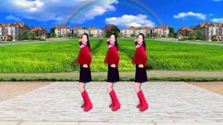 水兵舞《一吻红尘》好听的旋律 简单的舞步 真好看
