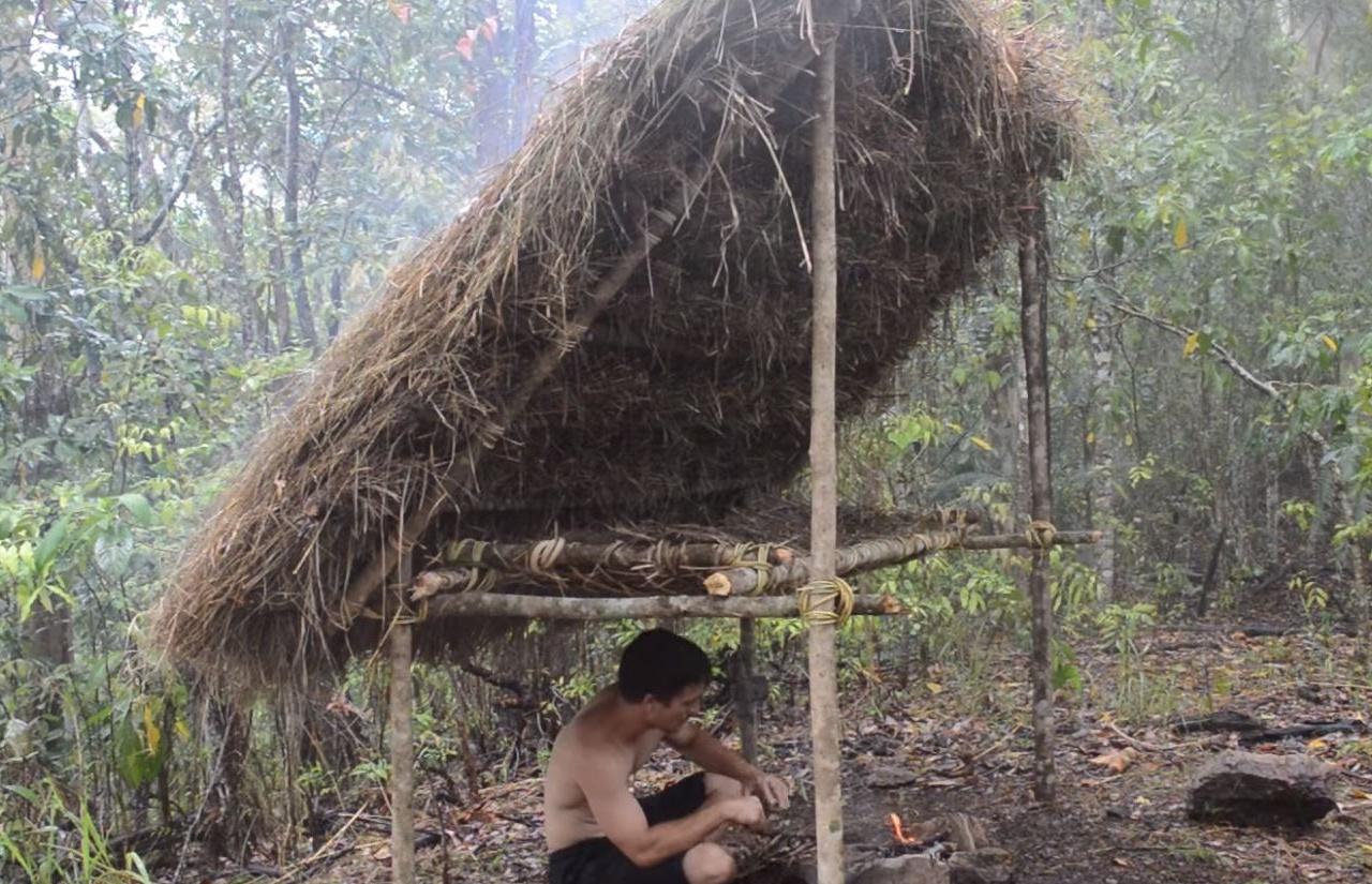 原始科技之——林中床棚_高清在线观看_百度视频